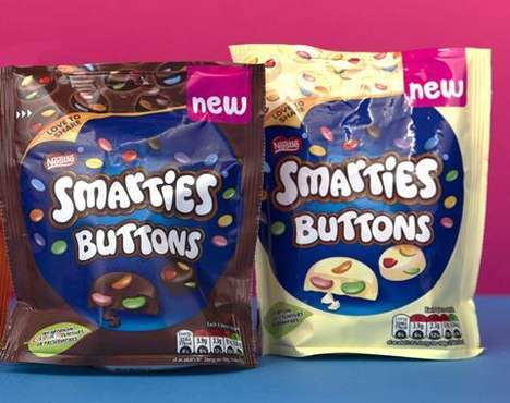 Crunchy Chocolate-Packed Candies