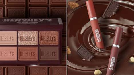 Chocolate-Inspired K-Beauty Cosmetics