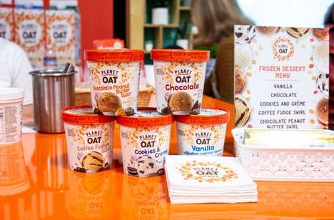 Oat-Based Frozen Desserts