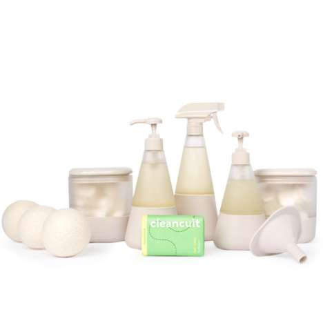 Waste-Reducing Cleaning Kits