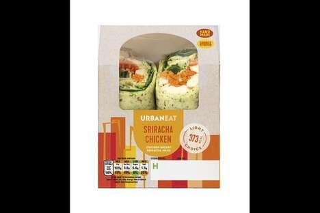 Artisan-Quality Prepackaged Sandwiches