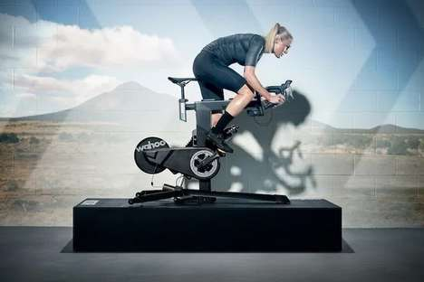 Road Cycling-Inspired Exercise Bikes