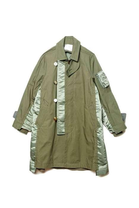 Deconstructed Militaristic Jackets