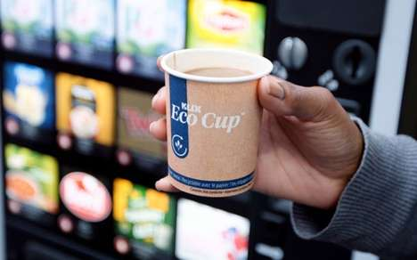 Recyclable Vending Coffee Cups