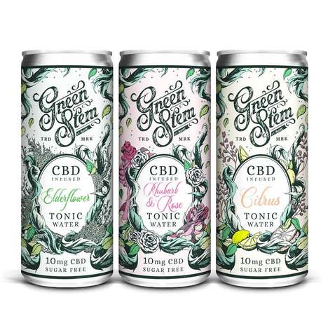 Sugar-Free CBD Tonic Waters