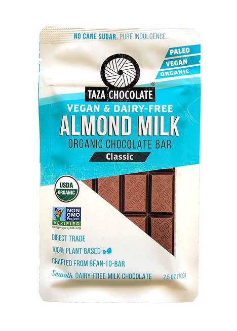 Almond Milk Chocolate Bars