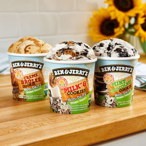 Sunflower Butter Frozen Desserts