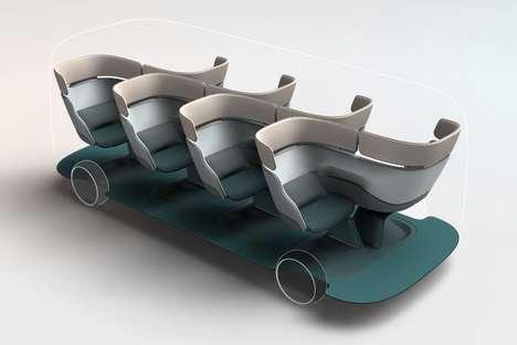 Shapeshifting Public Transport Seating