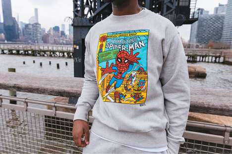 Superhero-Themed Streetwear