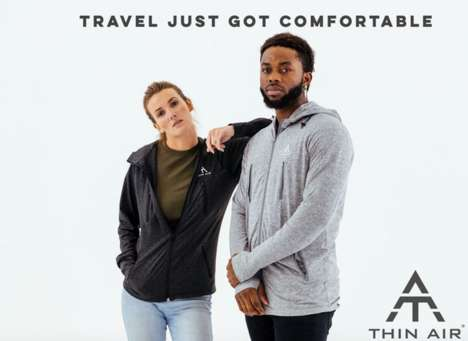 Lightweight Compact Travel Jackets