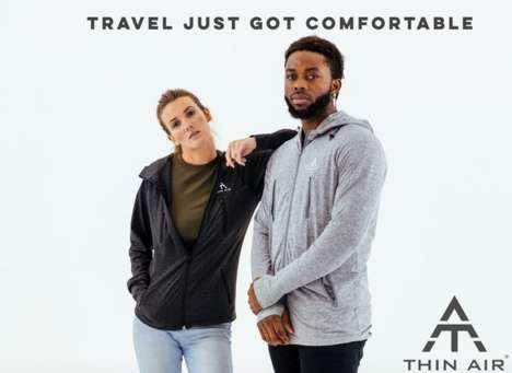 Lightweight Compact Travel Jackets
