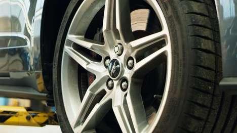 Biometric Automobile Wheel Nuts