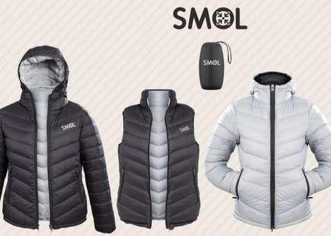 Six-in-One Jacket Styles