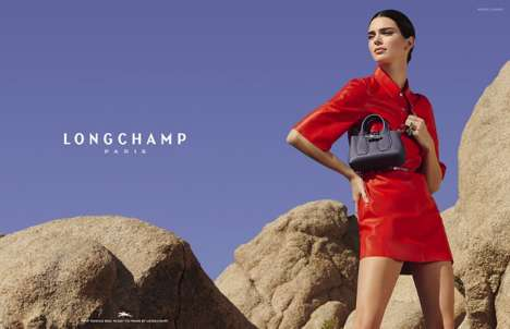Desert-Inspired Luxury Purse Campaigns