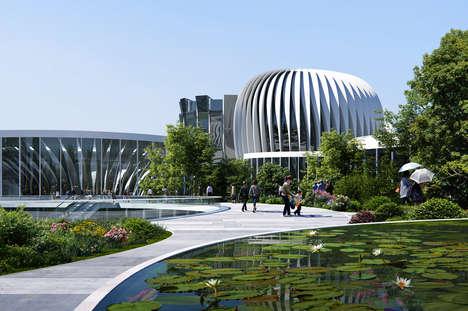 Ultra-Futuristic Exhibition Centers
