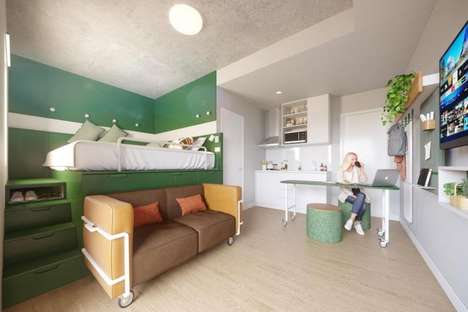Communal Living Micro Apartments