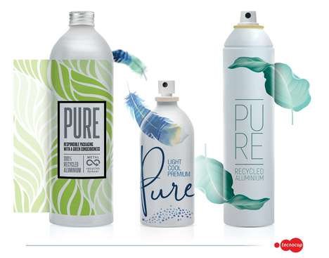 Recycled Aluminum Cosmetic Packaging