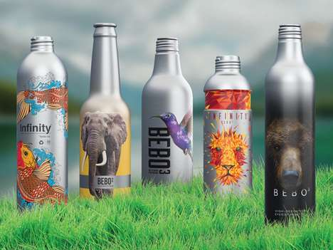 Infinitely Recyclable Aluminum Packaging