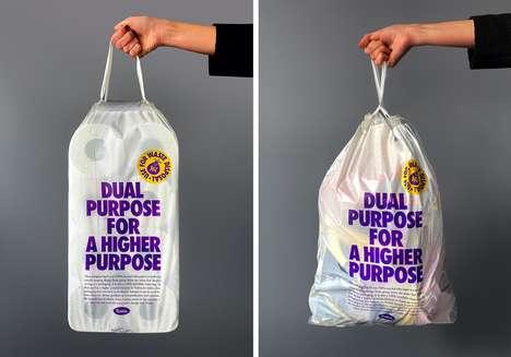 Dual-Purpose Toilet Paper Packaging