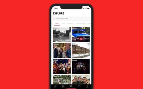 Aggregated Local News Platforms