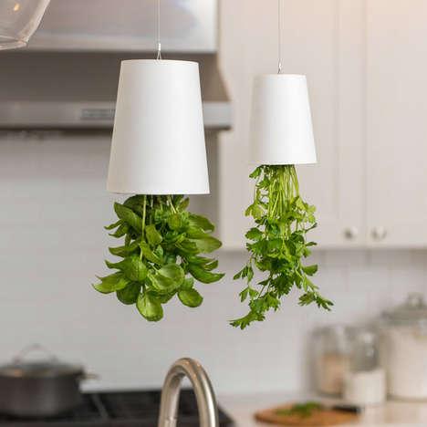 Upside-Down Greenery Planters