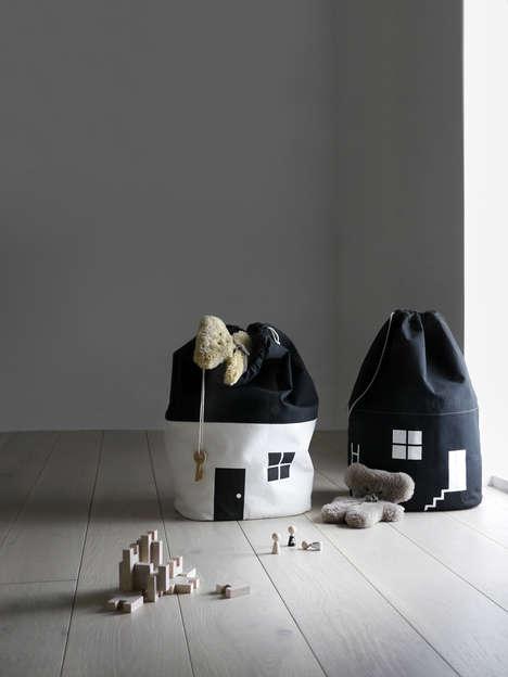 Children's House-Themed Storage