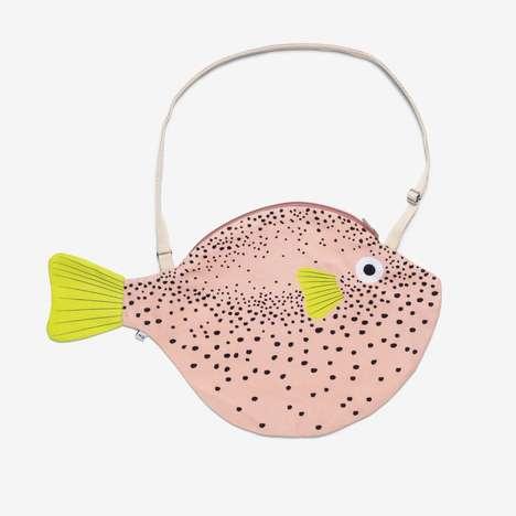 Fish-Shaped Statement Purses