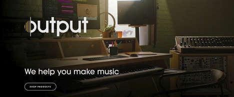 Wooden Studio Monitor Speakers