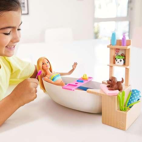 Self-Care Barbie Dolls