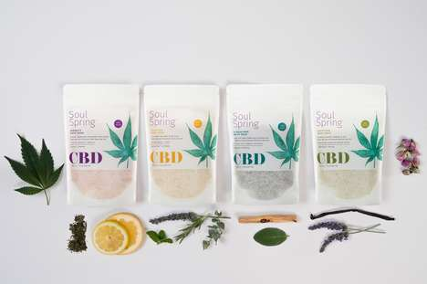 CBD-Infused Bath Soaks