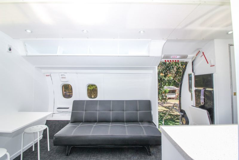 Decommissioned Airplane Tiny Homes
