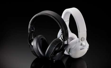 Distraction-Eliminating DJ Headphones