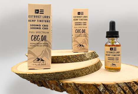 Full-Spectrum CBG Oils