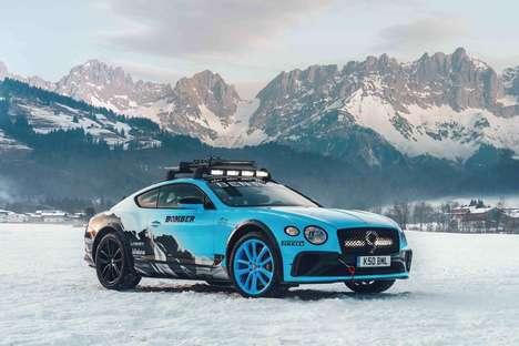 Automotive Ice Racing