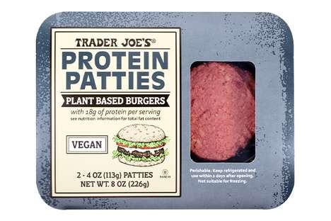 Vegan Protein-Packed Burgers