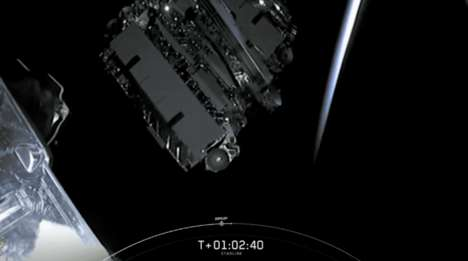 Large-Scale Satellite Launches
