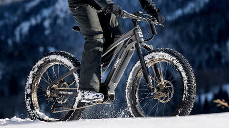 Off-Road Electric Bicycle Designs