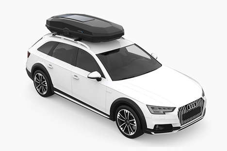 Solar-Powered Car Storage Boxes