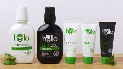 CBD-Infused Oral Care Collections