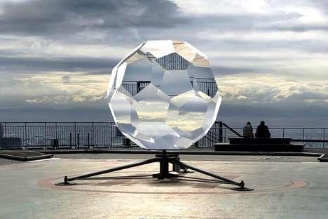 Kaleidoscopic Landscape-Obscuring Lenses