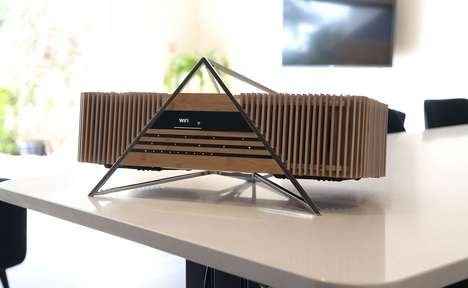Bamboo-Made Audio Systems