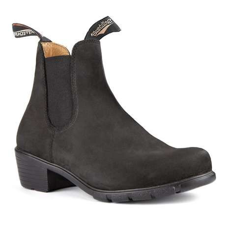 Ultra-Durable Heeled Leather Boots