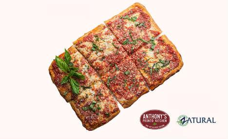 CBD Oil-Drizzled Pizzas