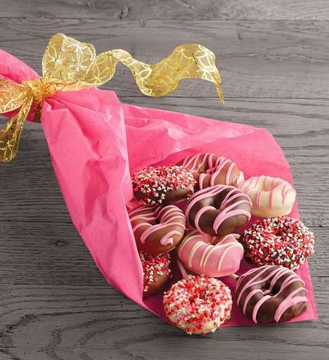 Romantic Donut Bouquets