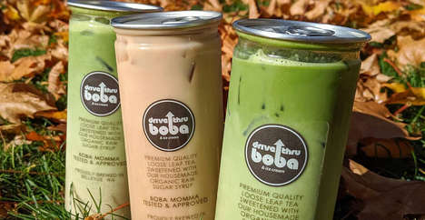 Flavorful Canned Boba Teas