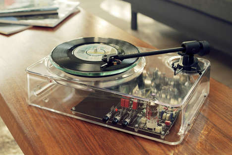 The Gearbox Automatic MkII is Inspired by a Retro Record Player