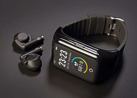 Earbud-Equipped Smartwatches