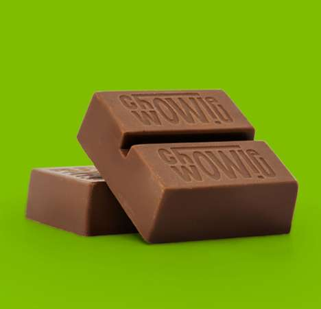 Consistently-Dosed THC Milk Chocolates