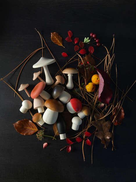 Artisan Mushroom Toys