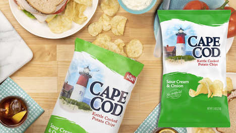Tangy Sour Cream Chips